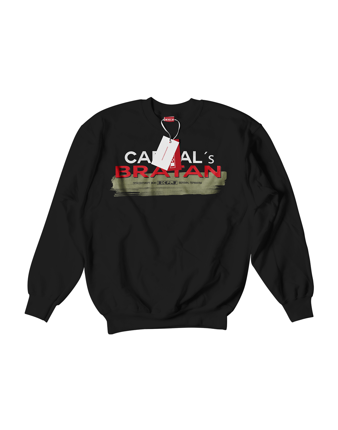 Capital Sweater Bratan Black