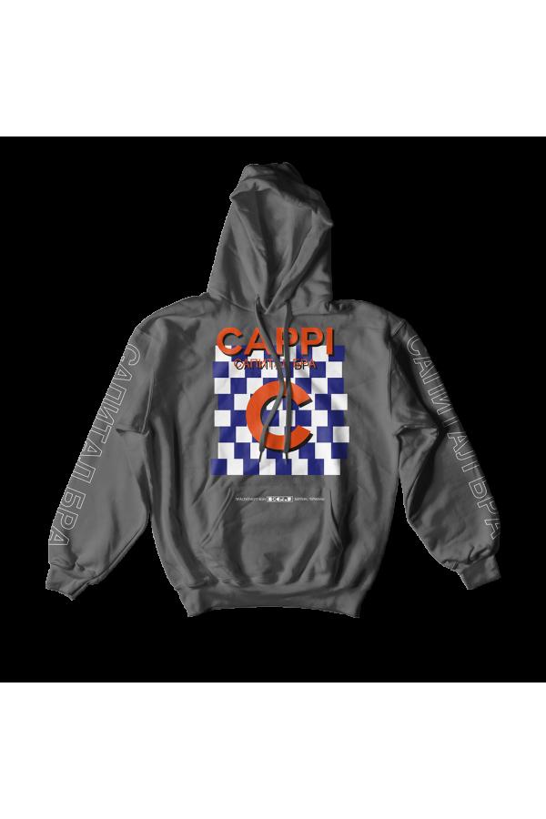 Capital Hoodie Grey