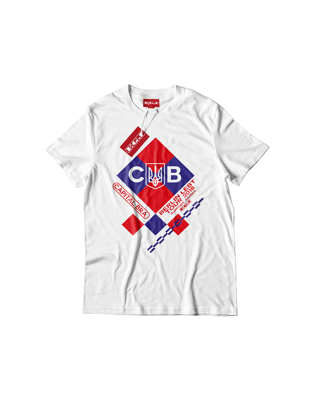 Capital Berlin Lebt Tour Shirt White