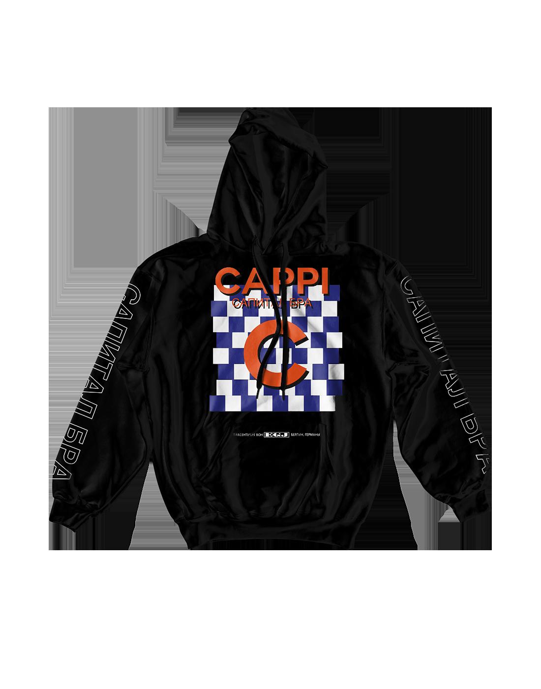 Capital Hoodie Black